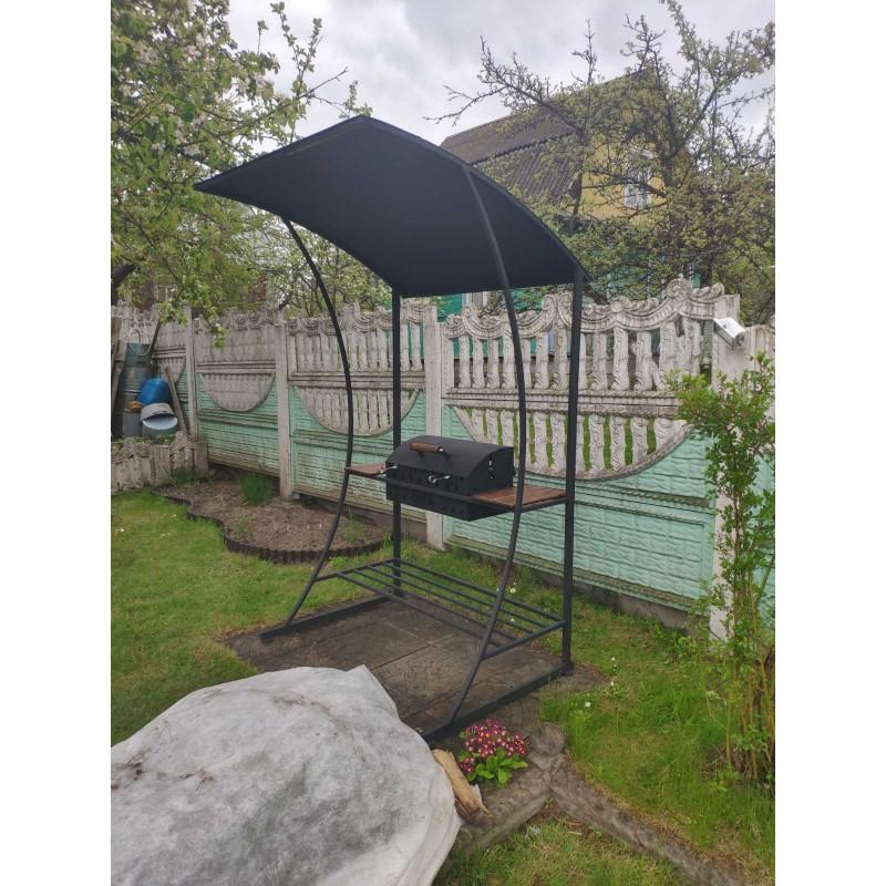 Мангал - барбекю BXL с крышей